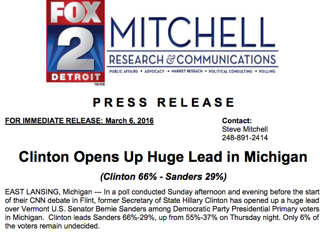 Fox Michigan Headline with less text