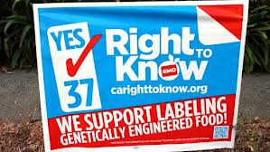 Prop 37 to Label GMO's In California