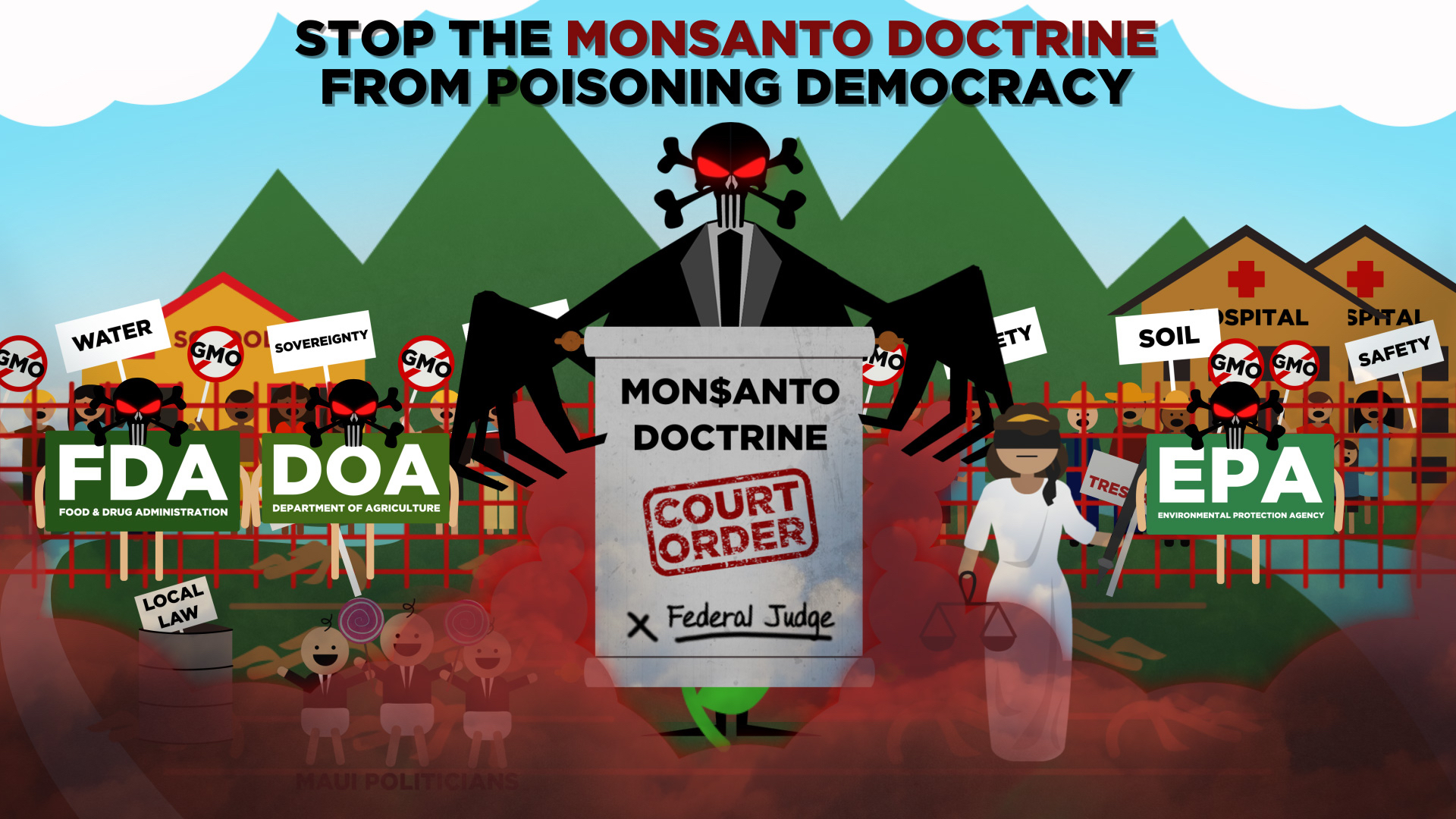 Stop the Monsanto Doctrine from Poisoning Democracy June 5 2016 FInal